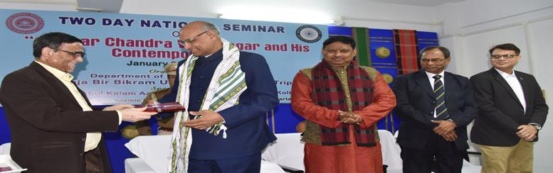 "National Seminar on ""Ishwar Chandra Vidyasagar and His Contemporaries"" during January 09-10, 2020 organized by Department of Pub"